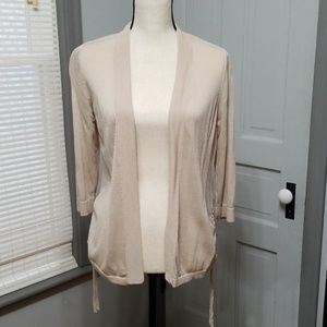 Chico's Ruched Side Cardigan